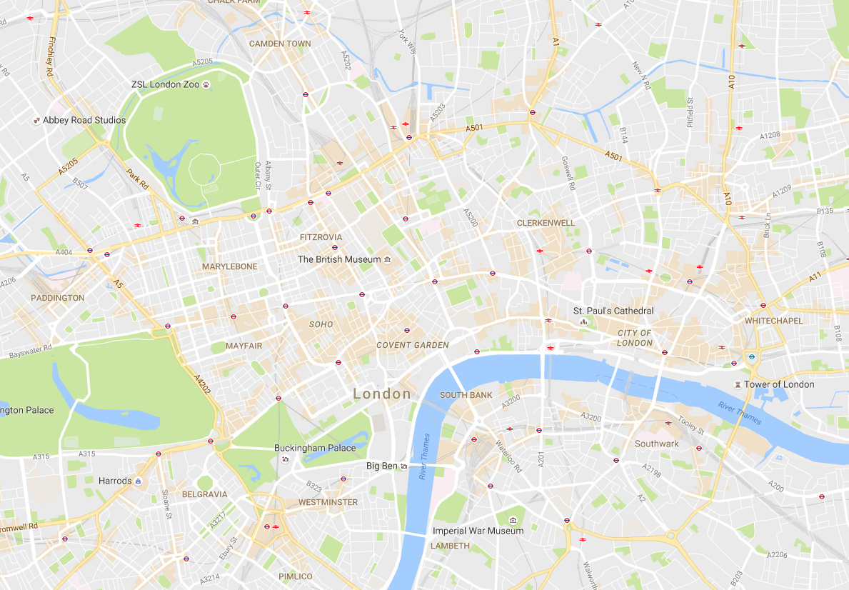 putting cartography back on the map google maps ting prettier