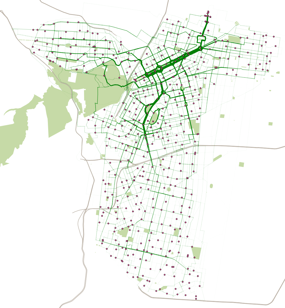 The Above Map Shows The Estimated Routes And Flows Of Over 16 Million Users Of The Bikeshare In Mexico City Ecobici Across The 22 Months Between