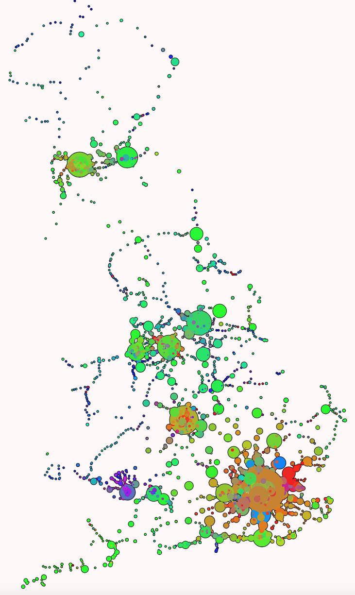 Data Graphics | Suprageography