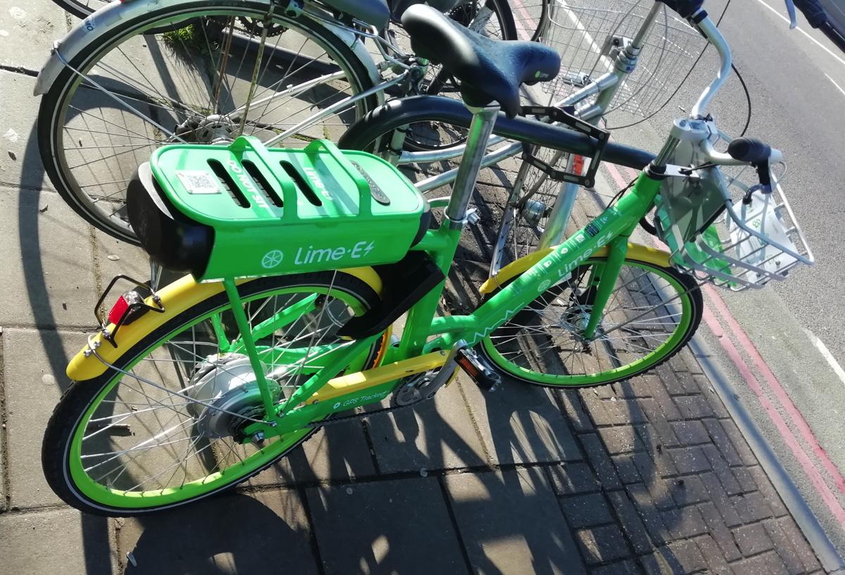 Lime E Bikeshare London Test Suprageography