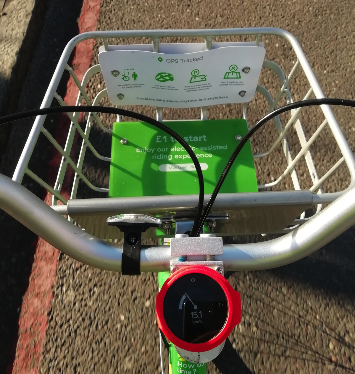 Lime-E Bikeshare: London Test | Suprageography